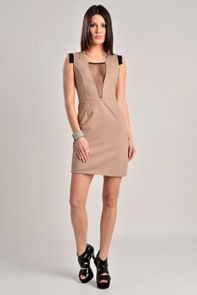 Yeni Elbisem Vizon YE-7230 Bayan Elbise