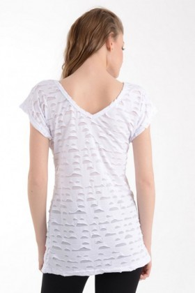 Yeni Elbisem Beyaz Ü-1136 Bayan Body