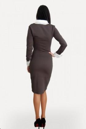 Yeni Elbisem Haki Ü-5223 Bayan Elbise