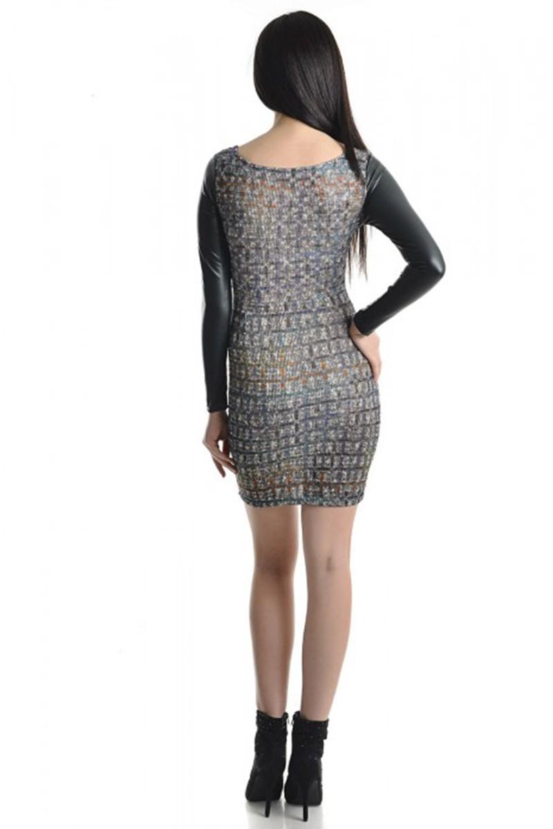 Yeni Elbisem Karışık Renkli YE-6981 Bayan Elbise