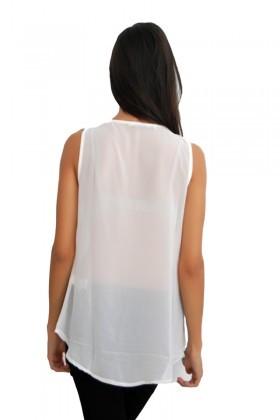 Yeni Elbisem Ekru Ü-4395 Bayan Bluz