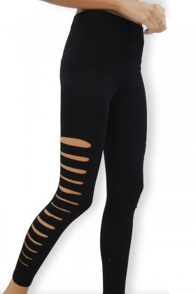Yeni Elbisem Siyah YE-6567 Bayan Tayt
