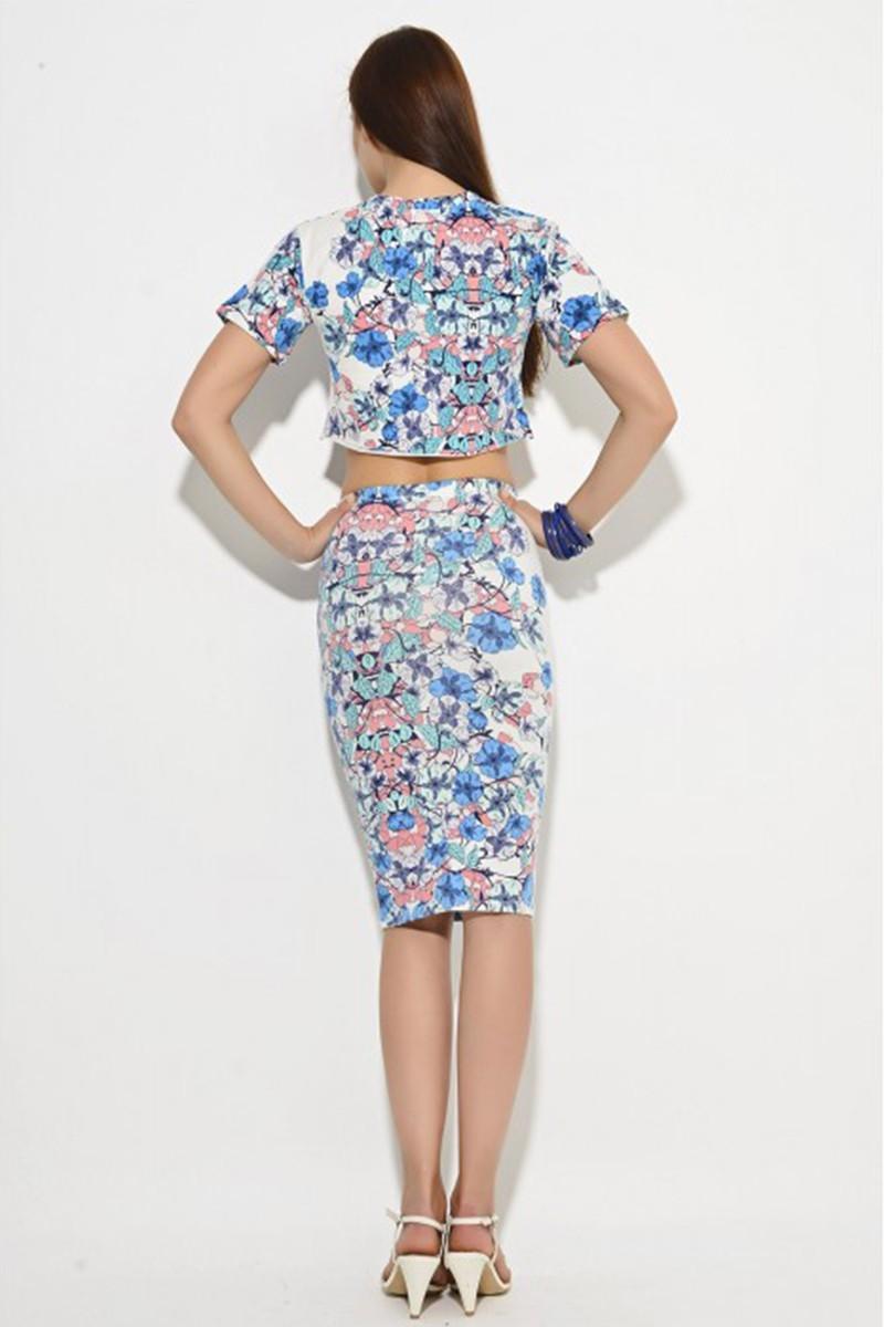 Yeni Elbisem Karışık Renkli YE-2039 Bayan Tişört