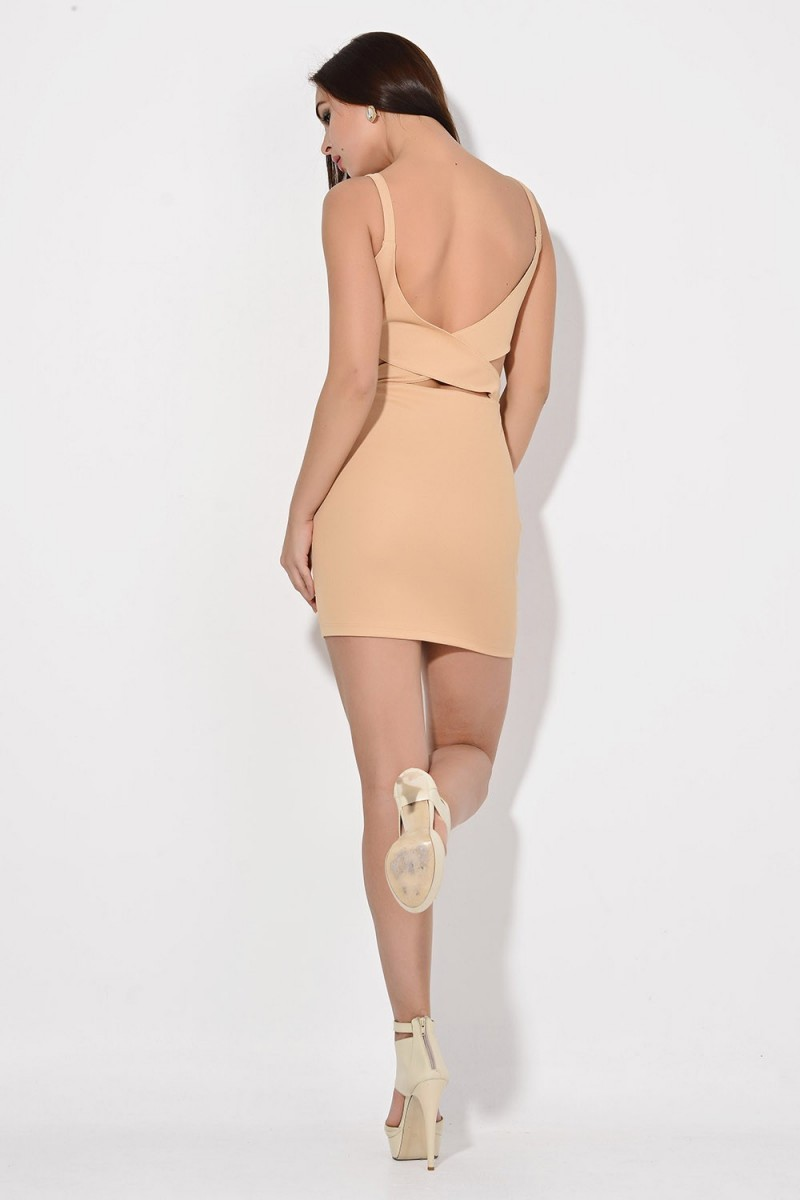 Yeni Elbisem Somon Ü-2087 Bayan Elbise
