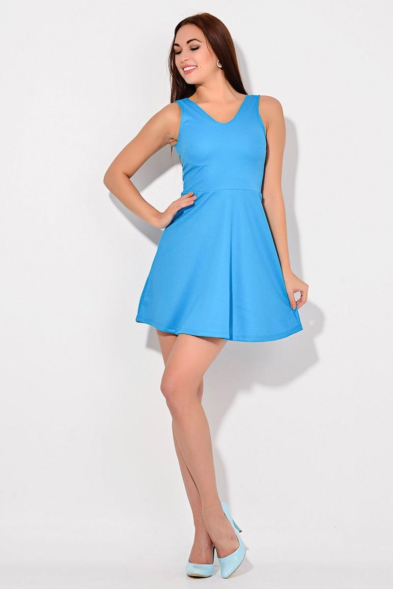Yeni Elbisem Mavi Ü-2207 Bayan Elbise