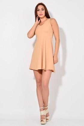 Yeni Elbisem Pudra Ü-2210 Bayan Elbise