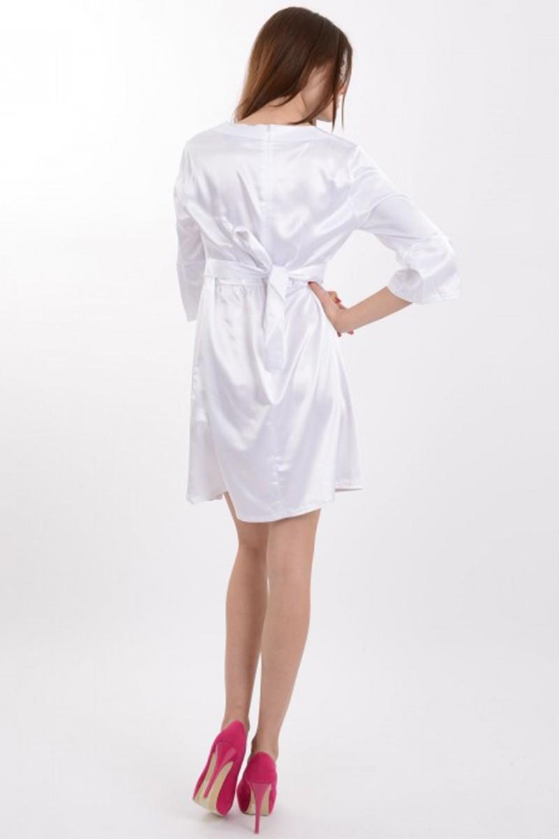 Yeni Elbisem Beyaz YEE-1060 Bayan Elbise