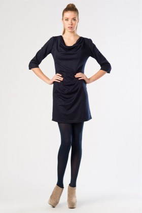 Yeni Elbisem Lacivert YE-12K013L Bayan Elbise