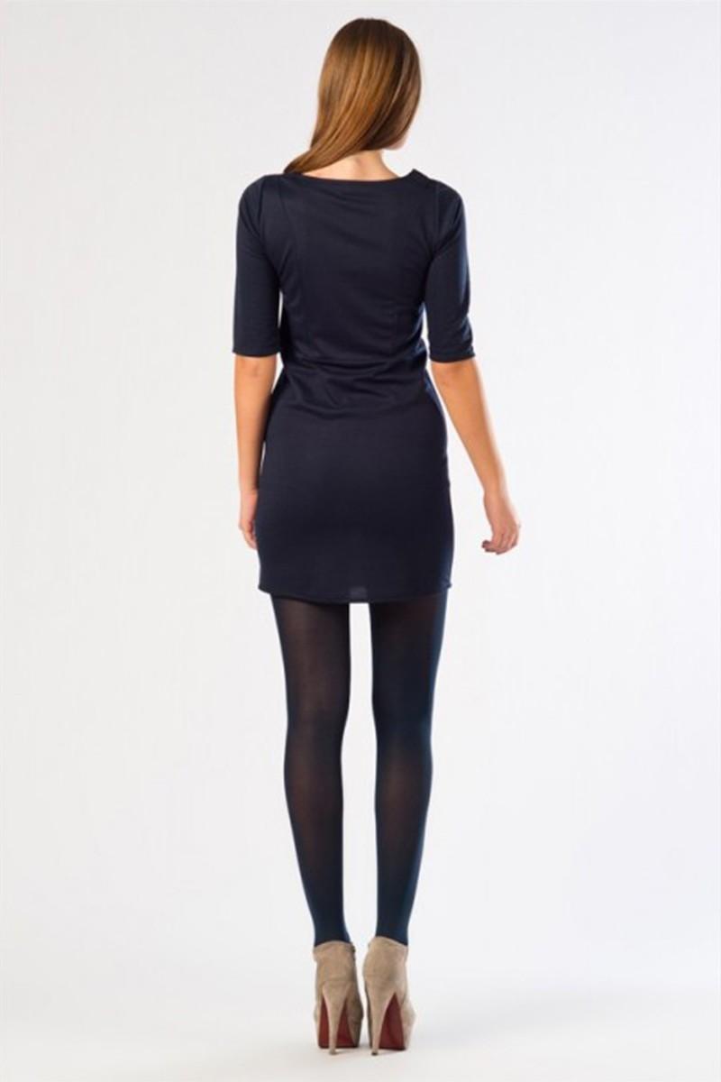 Yeni Elbisem Lacivert YE-12K001L Bayan Elbise
