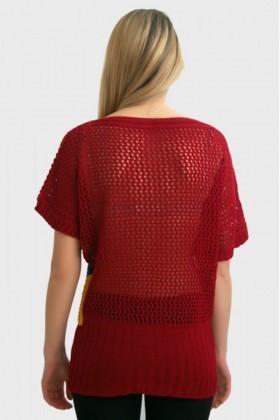 Yeni Elbisem Karışık Renkli Ü-2385 Bayan Kazak