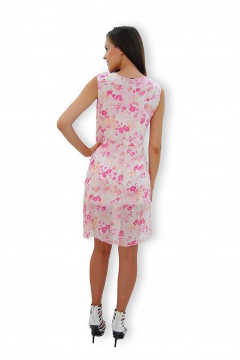 Yeni Elbisem Beyaz Ü-4042 Bayan Elbise