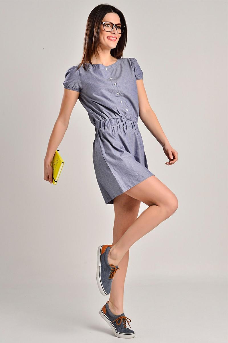 Yeni Elbisem Gri YEE-7278 Bayan Elbise