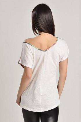 Yeni Elbisem Karışık Renkli Ü-7265 Bayan Bluz