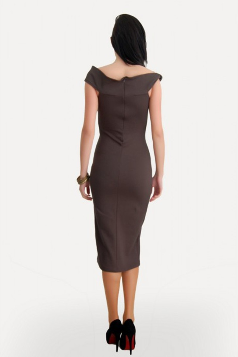 Yeni Elbisem Haki Ü-5305 Bayan Elbise