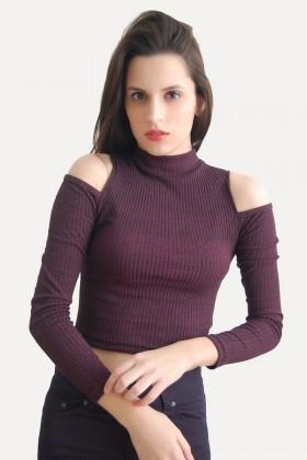 Yeni Elbisem Bordo Ü-5179 Bayan Body