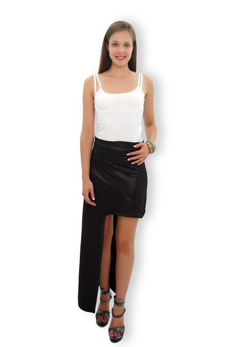 Yeni Elbisem Siyah Ü-4229 Bayan Etek