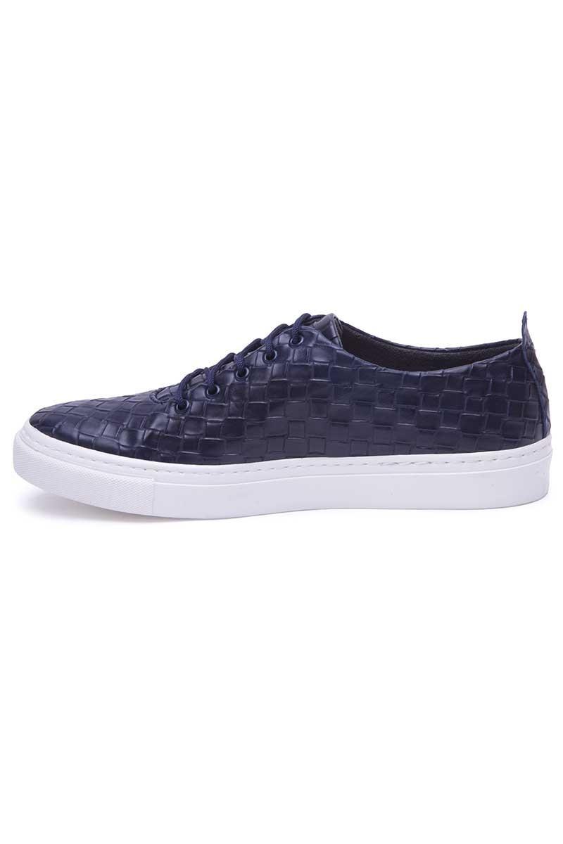 BLUESOIL Lacivert BS-20-042-KARELI Erkek Ayakkabı