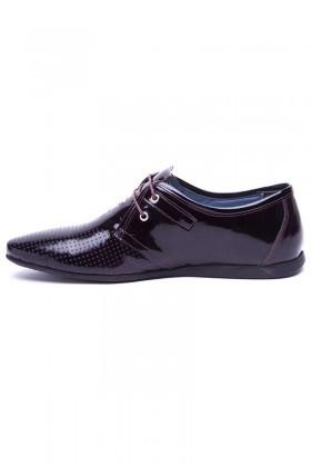 BLUESOIL Bordo BS-20-66 Hakiki Deri Erkek Ayakkabı
