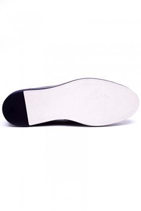 Pandew Lacivert PNDW-00265-LACI Hakiki Deri Erkek Ayakkabı