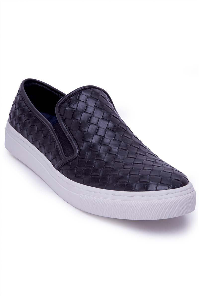 BLUESOIL Siyah BS-20-044-KARELI Erkek Ayakkabı