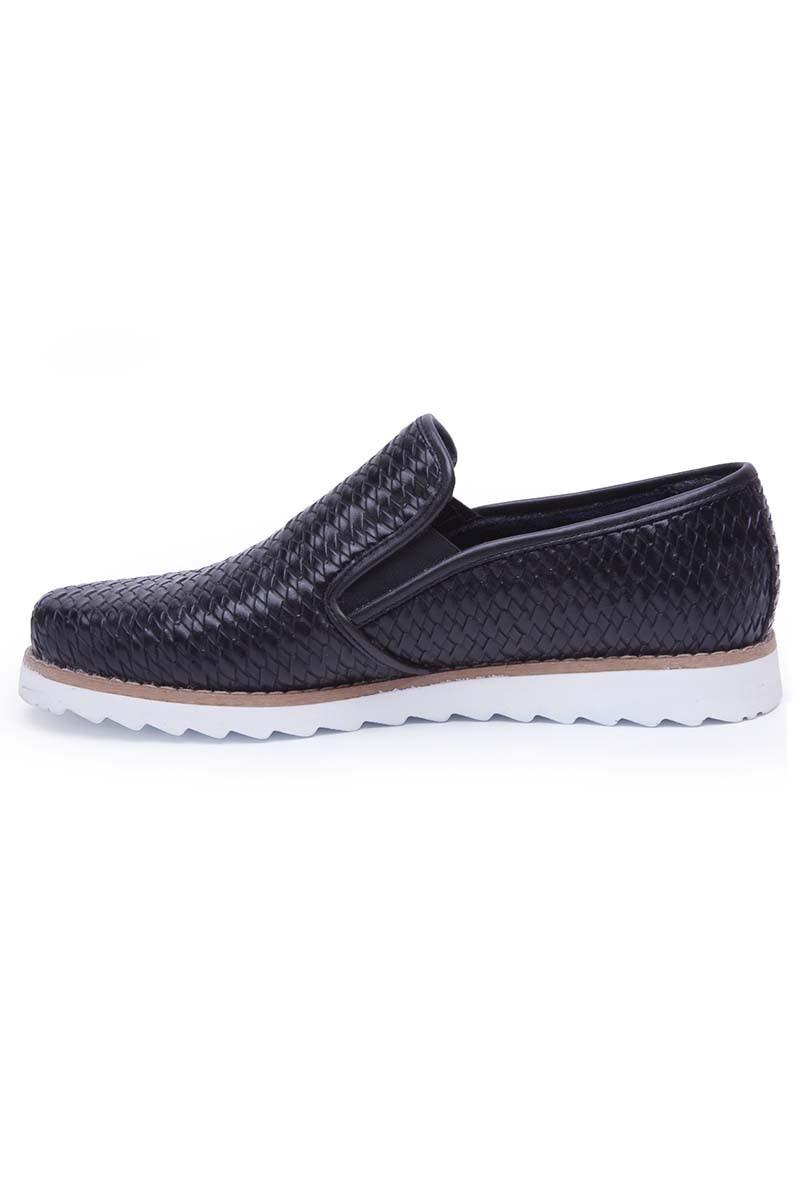 BLUESOIL Siyah BS-20-046 Erkek Ayakkabı