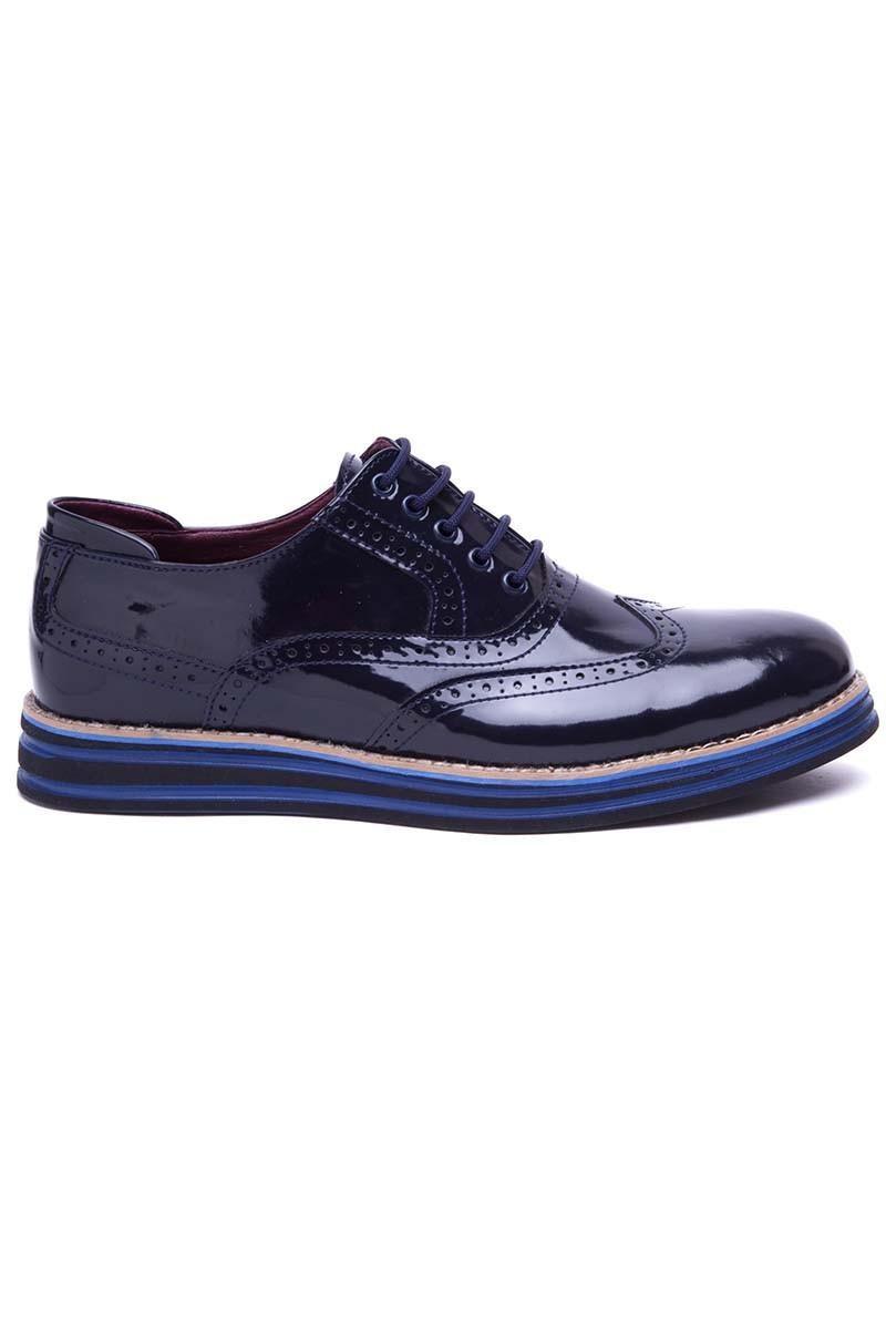 BLUESOIL Lacivert BS-20-001-RGN Erkek Ayakkabı