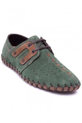 Pandew Yeşil PNDW-2600 Hakiki Deri Erkek Çarık
