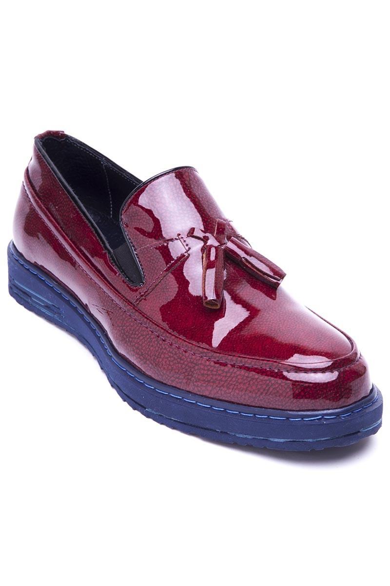 BLUESOIL Bordo BS-20-047 Erkek Ayakkabı