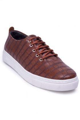 BLUESOIL Taba BS-20-042-DESENLI Erkek Ayakkabı