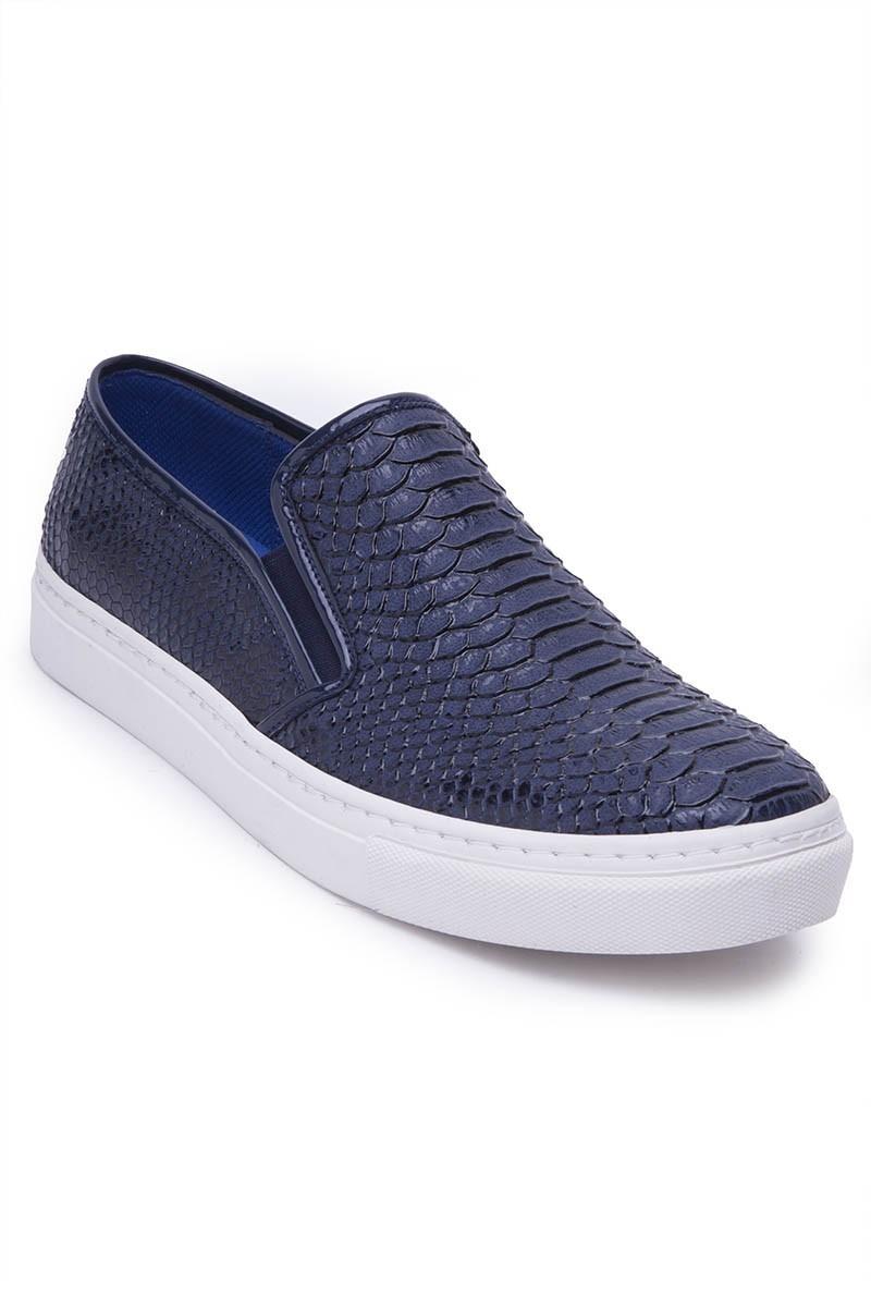 BLUESOIL Lacivert BS-20-044-YILAN Erkek Ayakkabı