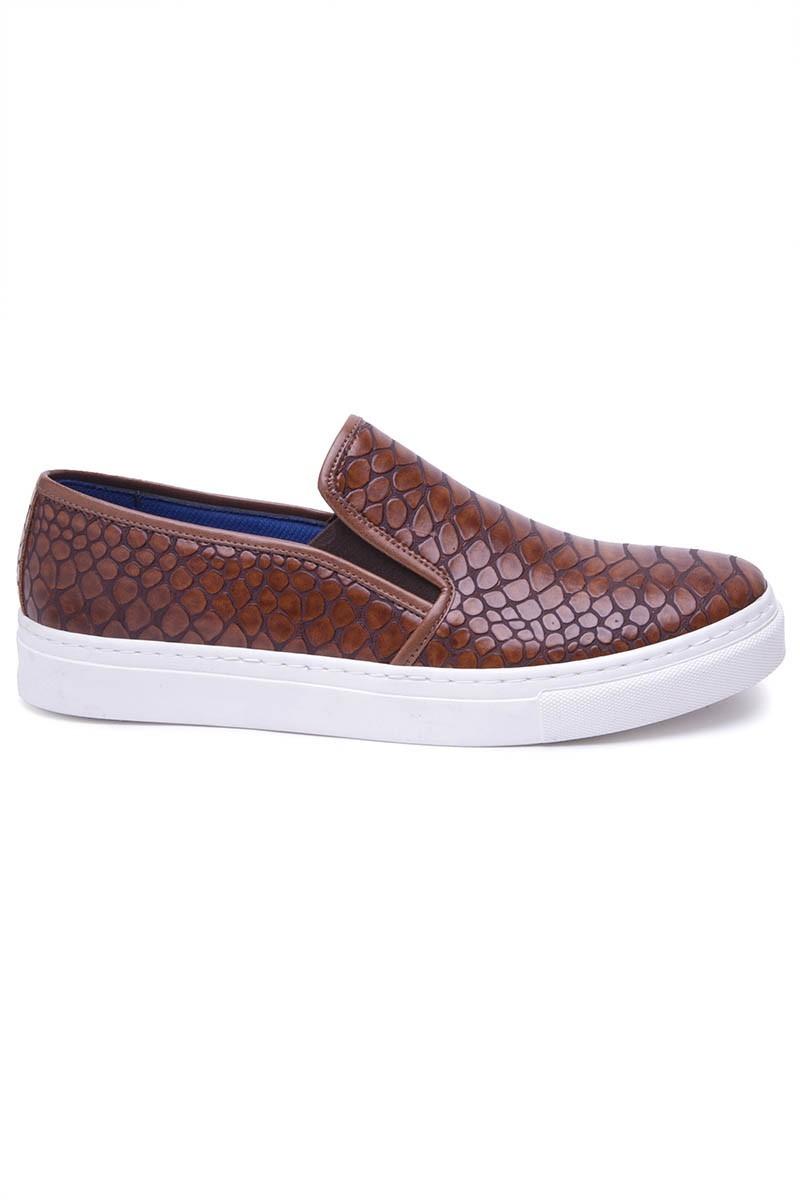 BLUESOIL Taba BS-20-044-DESENLI Erkek Ayakkabı