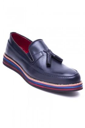 BLUESOIL Lacivert BS-20-012-MAT-LACI Erkek Ayakkabı