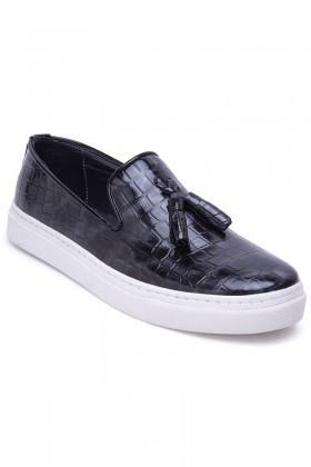 BLUESOIL Siyah BS-20-045-RGN Erkek Ayakkabı