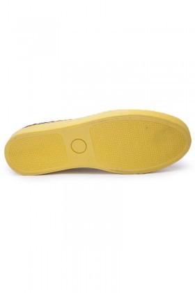 BLUESOIL Sarı-Kırmızı BS-20-GS Erkek Ayakkabı