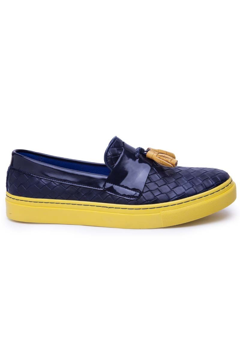 BLUESOIL Sarı-Lacivert BS-20-FB Erkek Ayakkabı