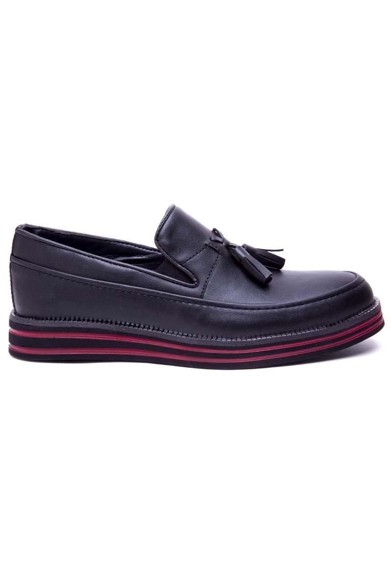 BLUESOIL Siyah BS-20-051 Erkek Ayakkabı