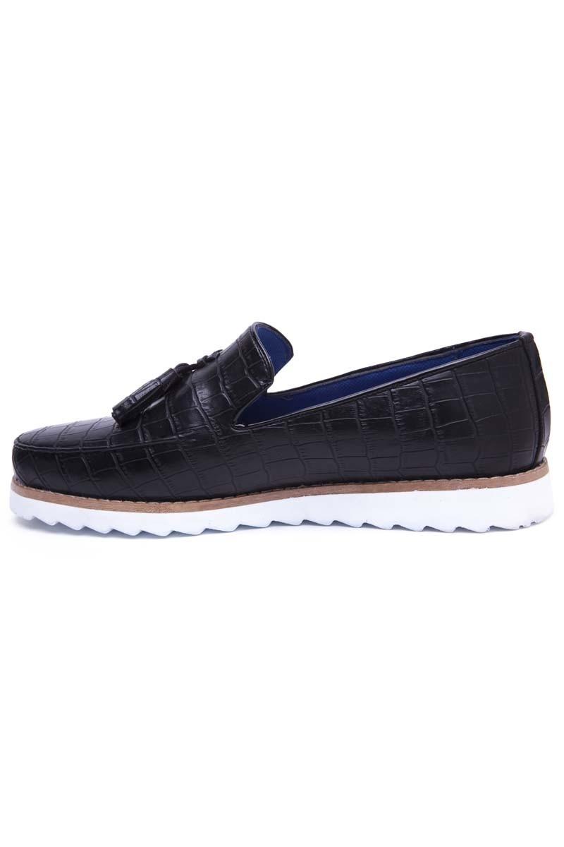 BLUESOIL Siyah BS-20-048 Erkek Ayakkabı