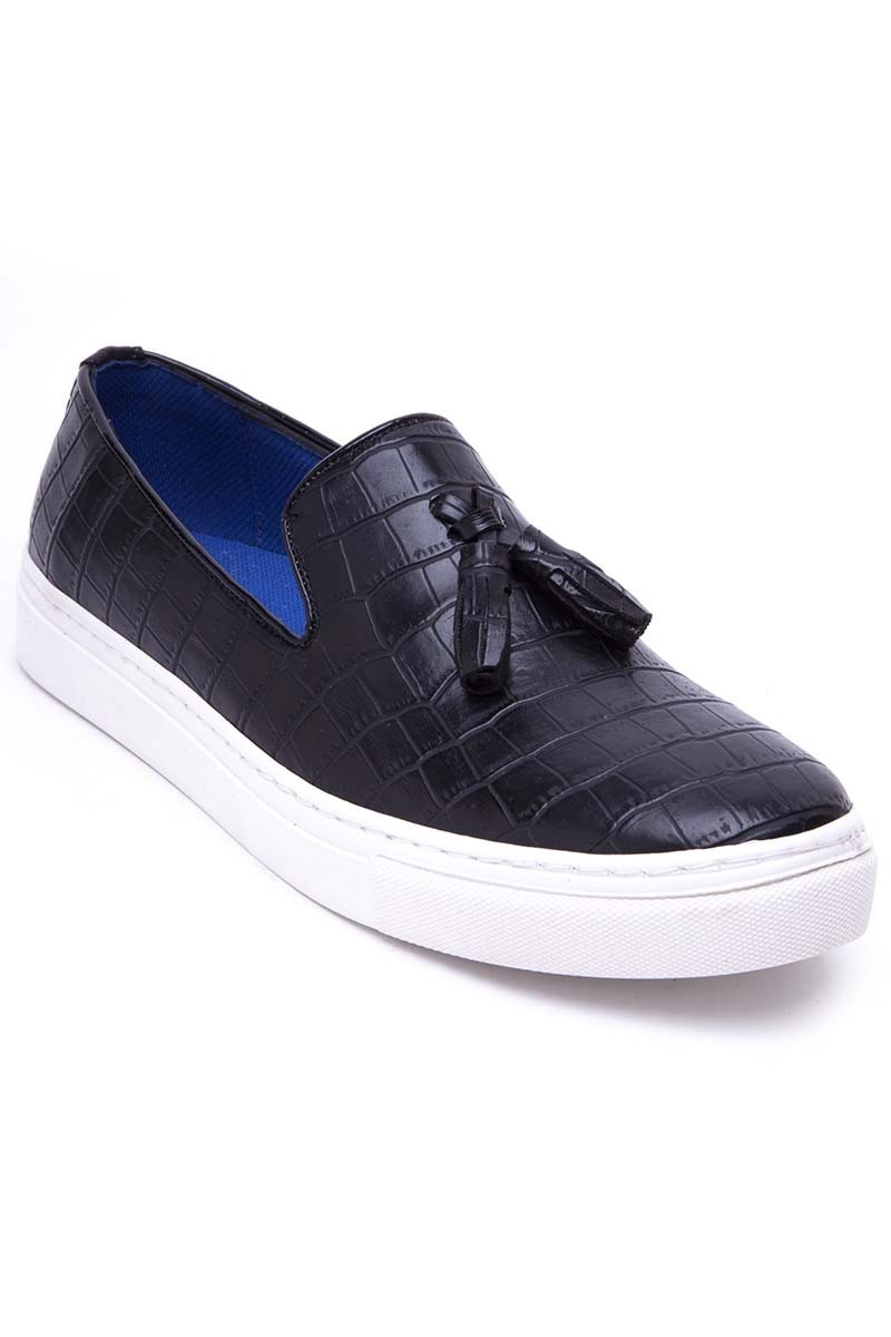 BLUESOIL Siyah BS-20-045-MAT Erkek Ayakkabı