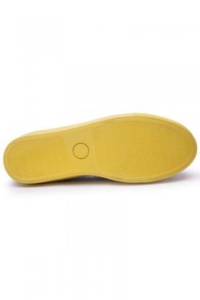 BLUESOIL Sarı-Kırmızı BS-20-GS-1 Erkek Ayakkabı