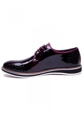 Pandew Bordo PNDW-800-10 Hakiki Deri Erkek Ayakkabı