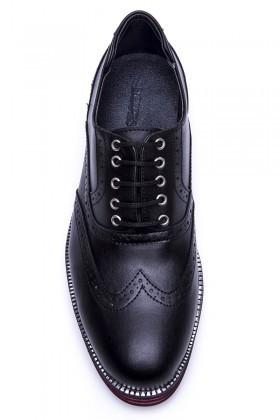 BLUESOIL Siyah BS-20-001-MAT Erkek Ayakkabı