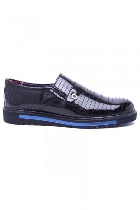 Polomen Siyah PLM-023 Erkek Ayakkabı