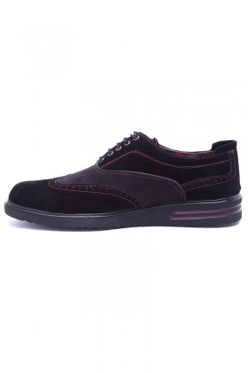 Polomen Siyah PLM-045-SUET Erkek Ayakkabı