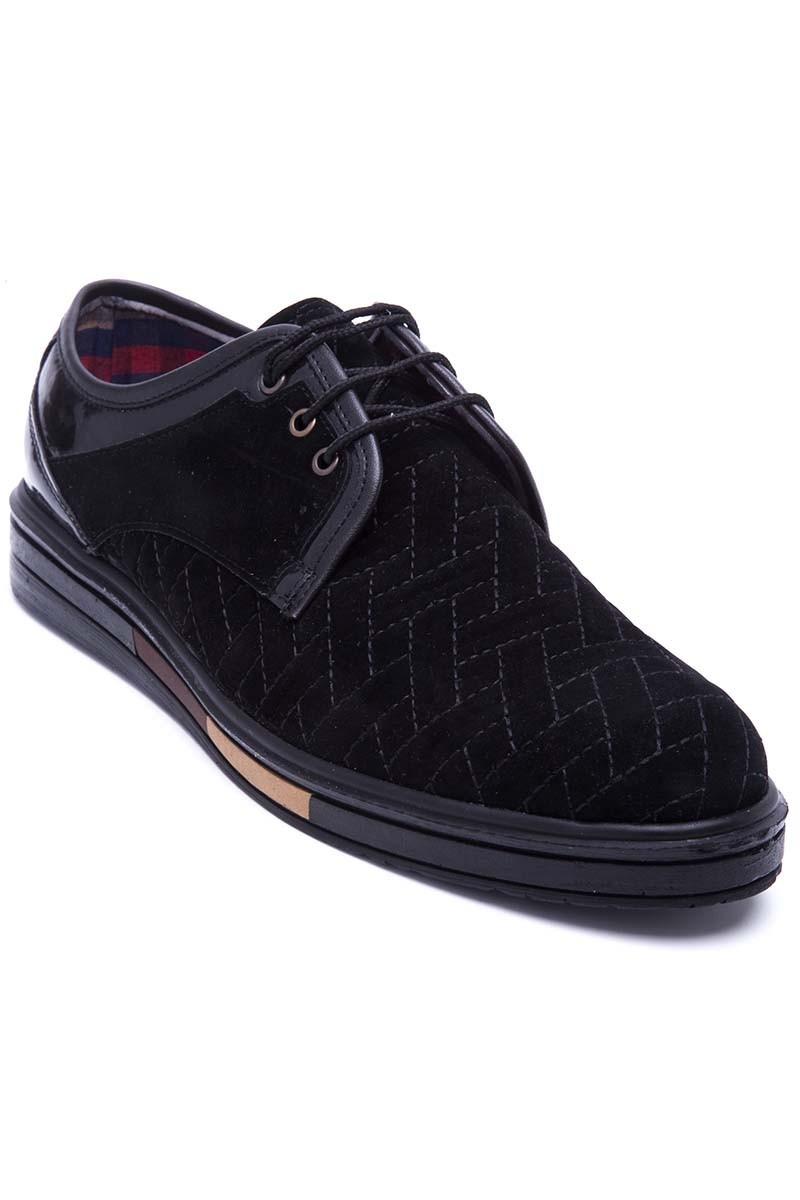 Polomen Siyah PLM-043-SUET Erkek Ayakkabı