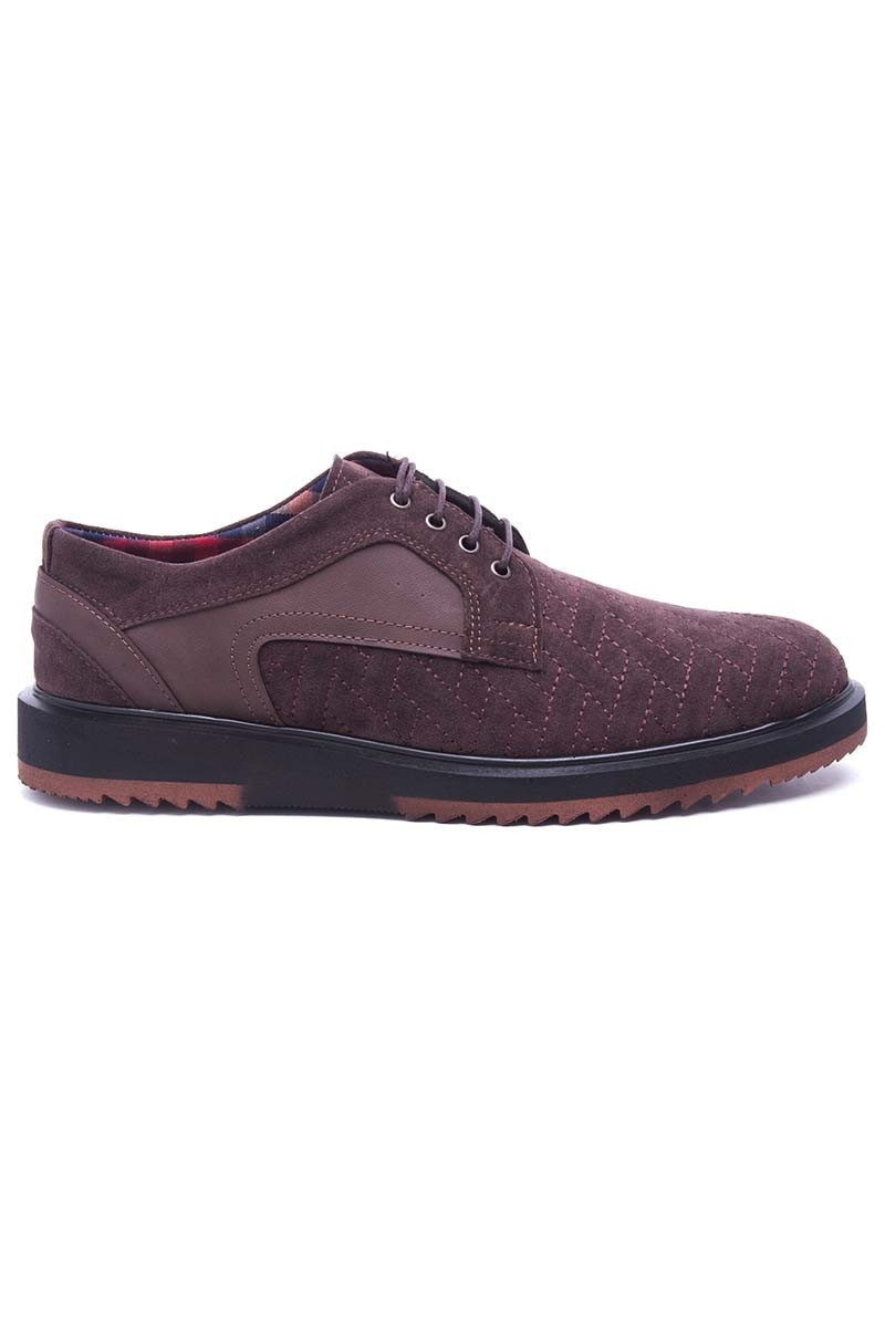 Polomen Kahverengi PLM-040-SUET Erkek Ayakkabı