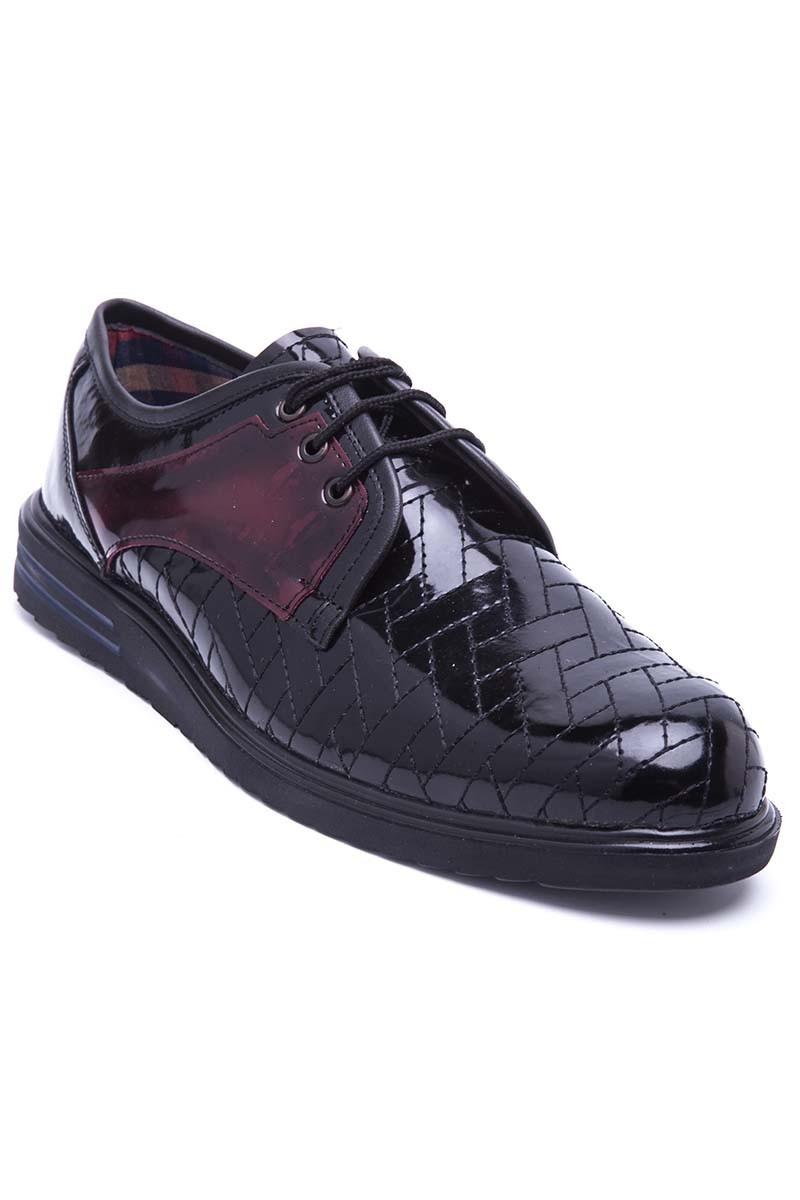 Polomen Siyah PLM-038-RGN Erkek Ayakkabı