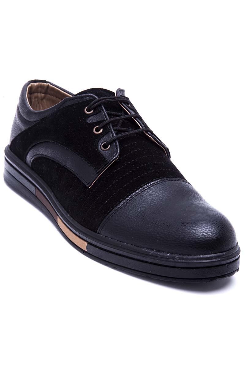 Polomen Siyah PLM-036 Erkek Ayakkabı