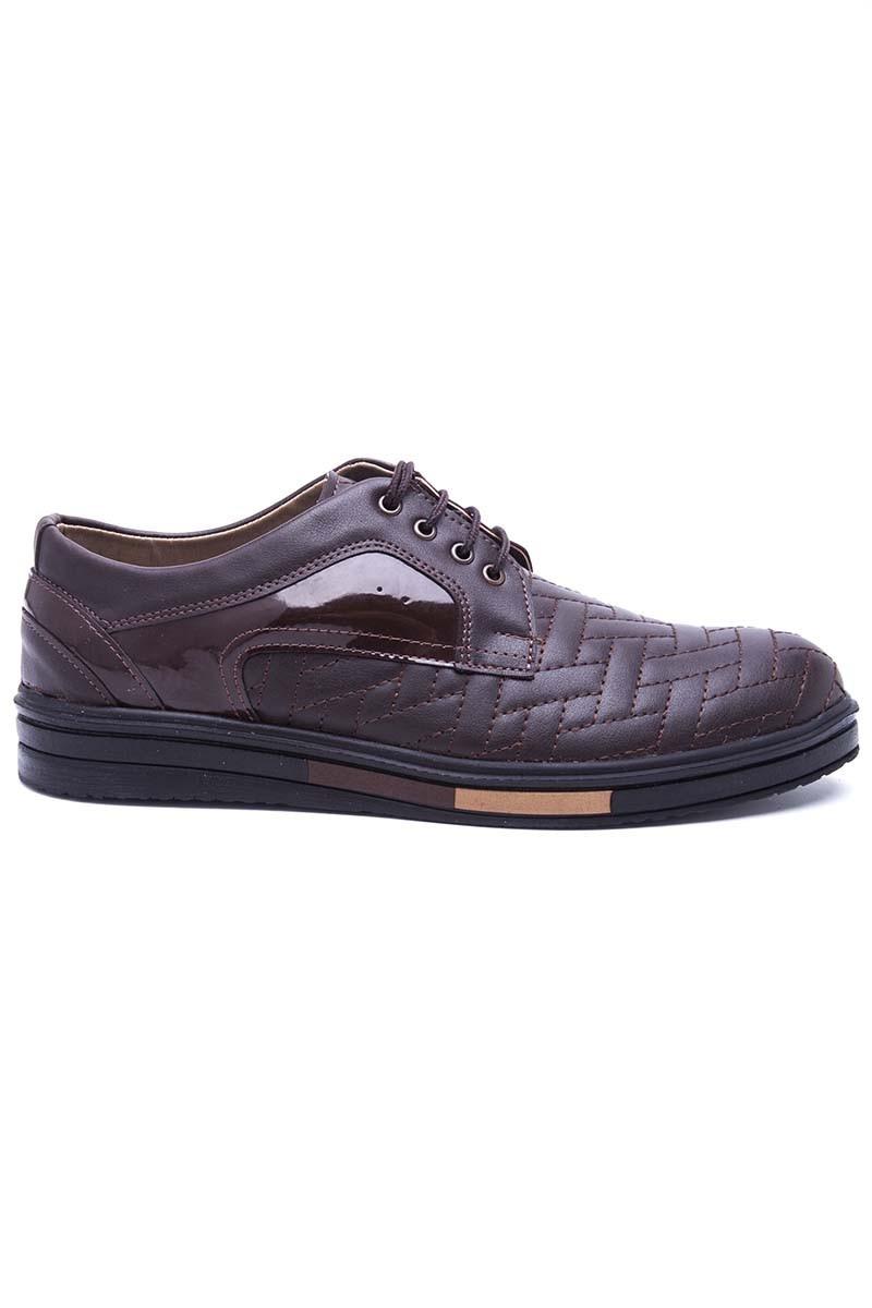 Polomen Kahverengi PLM-033 Erkek Ayakkabı