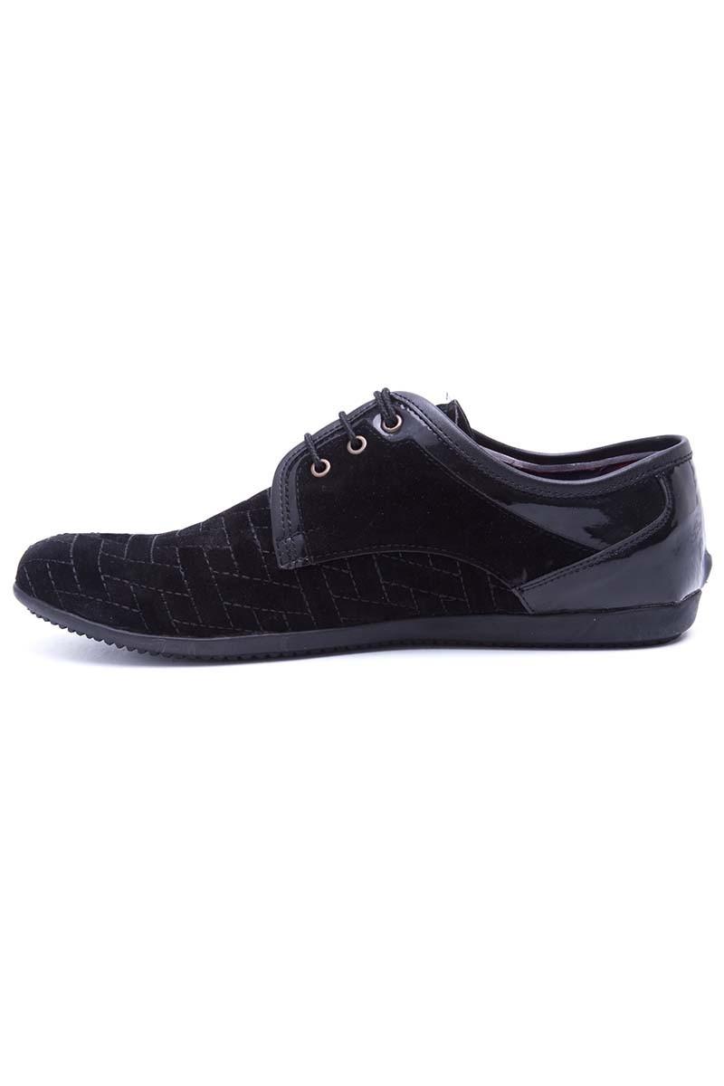 Polomen Siyah PLM-028-SUET Erkek Ayakkabı