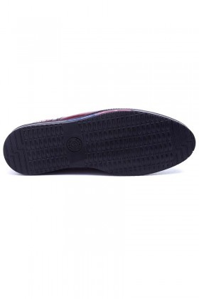 Polomen Bordo PLM-022-RGN Erkek Ayakkabı
